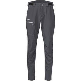 Bergans Slingsby LT Softshell Hose Damen solid dark grey/white